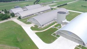Aerial Footage of NMUSAF