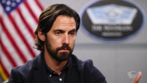 Milo Ventimiglia visits the Pentagon