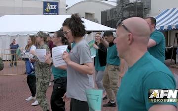 SAAPM Flash Mob in Yokosuka, Japan