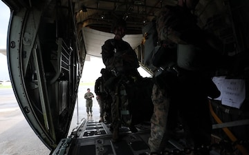 3rd Air Delivery Platoon conducts air drop training   B-roll Package