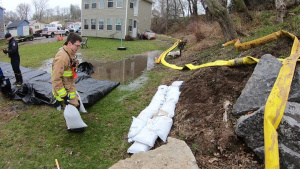 914th ARW Firefighters assist with flooding efforts
