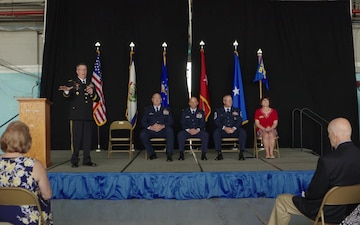 130th AW Change of Command B-Roll