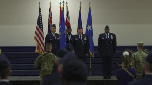 460th Space Wing Change of Command