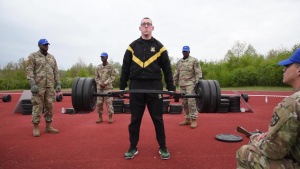 USAREUR Best Warrior Day 1 Army Combat Fitness Test