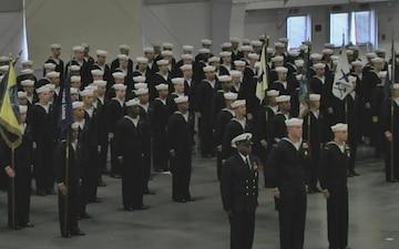 Navy Recruit Training Command Graduation