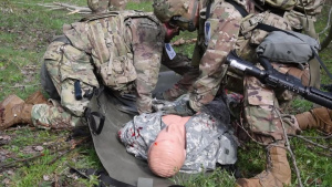 USAREUR Best Warrior Downed Helicopter Lane