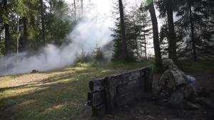 USAREUR Best Warrior Grenade Range