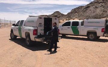 Group of 142 from Central America surrender to Border Patrol Agents near San Luis, AZ