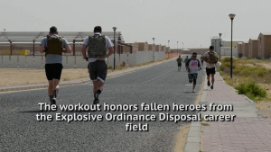 EOD 134 Memorial Workout