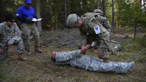 USAREUR Best Warrior Competition Gernade Range