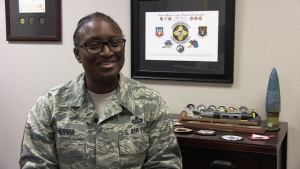 Get To Know Your Chief with Command Chief Master Sergeant Charlene Scheere