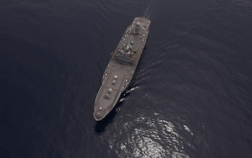 USS Blue Ridge Aerial Video in the South China Sea