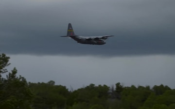 B-Roll of C-130s from the 153rd Airlift Wing, Wyoming completing MAFFS AEG Training 2019
