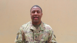Mother's Day Greeting Sgt. 1st Class Hillman