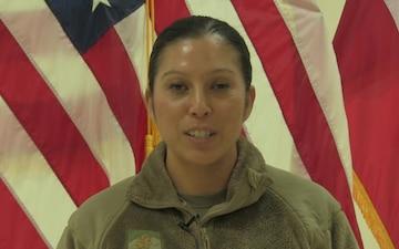 Maj. Juanita Dubon Mother's Day Greeting