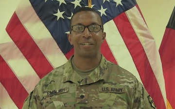 Spc. Vincent English Mother's Day Greeting