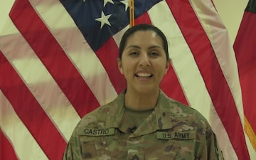 Sgt. Celina Castro Mother's Day Greeting