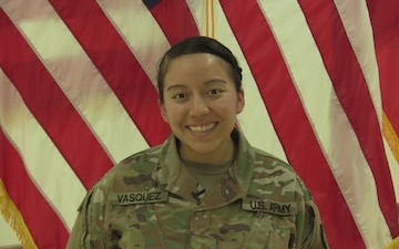 2nd Lt. Vanessa Vasquez Mother's Day Greeting