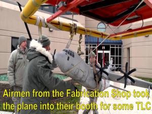 Fabrication Shop Restores Model Aircraft