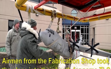 Fabrication Shop Restores Model Aircraft