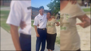 Army Reserve Mother Inspires Son