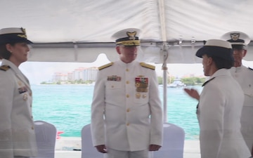 Coast Guard Sector Miami holds Change of Command