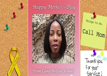184th Sustainment Command Mother's Day Shoutout #3