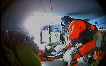 Coast Guard medevacs fisherman 50-miles northeast of St. Paul