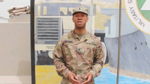 Mother's Day Greeting 1st Lt. Mullings