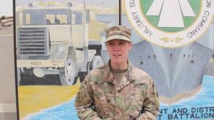 Mother's Day Greeting Maj. Miller