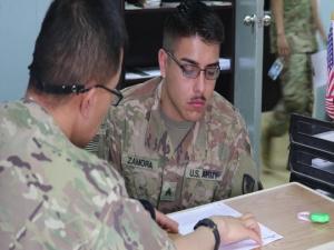 U.S. Military Hospital Kuwait (B-Roll)