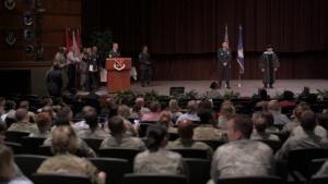 CCAF graduation b-roll