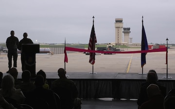 New Air Traffic Control Tower Ribbon Cutting Ceremony at McConnell Air Force Base