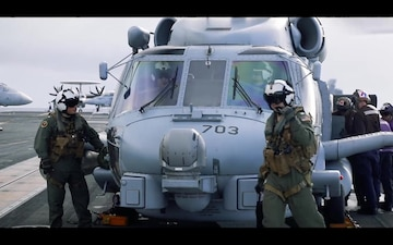 Helicopter Maritime Strike Squadron (HSM) 79 Aboard USS Abraham Lincoln