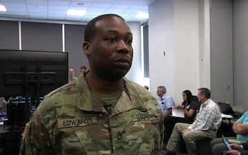 STE CFT (Synthetic Training Environment Cross Functional Team) SFC James Edwards interview
