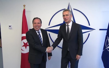 Visit to NATO by the Minister of Foreign Affairs of the Republic of Tunisia
