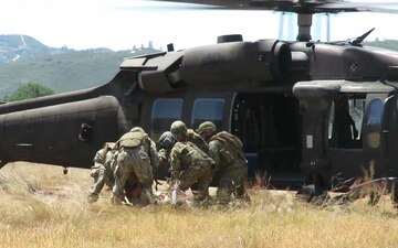 Seabees Mass Casualty Exercise at Fort Hunter Liggett