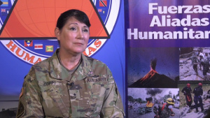 FA-HUM 19 Dominican Republic: Interview with Brig. Gen. Irene Zoppi, Director, Army Reserve Engagement Cell & Deputy Commanding General - Army Reserve, U.S. Army South