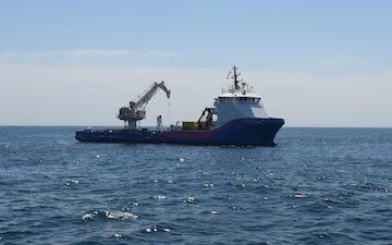 Coast Guard, partner agencies assess tanker Coimbra wreck