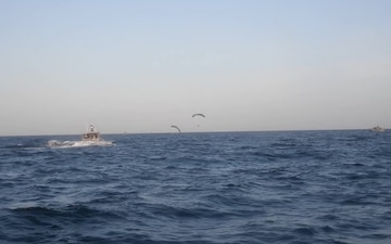 CRS and PJs conduct search and rescue rehersals in Djibouti