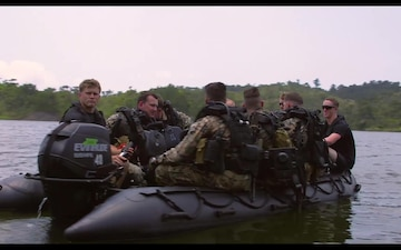 Dive In; Recon Marines with the 31st MEU Conduct Dive, Live Fire Training at Camp Hansen