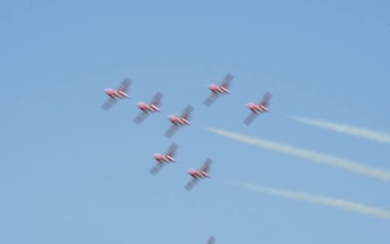 Defenders of Liberty Airshow-Canadian Force Snowbirds