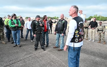 Green Knights gather for the Defenders of Liberty Air & Space Show at Barksdale Air Force Base