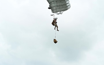 Black Daggers Parachute Demonstration Team during Defenders of Liberty Air & Space Show at Barksdale Air Force Base