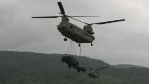 173rd IBCT (A) air assault exercise in Slunj, Croatia - B-roll