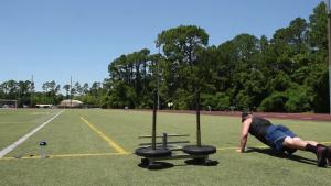Airmen work out at Hurlburt Field