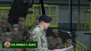 601st Aviation Support Battalion Change of Command