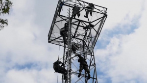 1st Construction Maintenance Squadron Training Tower Ready for Training