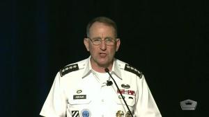U.S. Forces Korea Commander Speaks at Symposium
