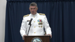 U.S. Coast Guard Rear Admiral Michael Haycock retires after 34 Years of Service